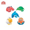 Bath toy sea animals vinyl toy factory