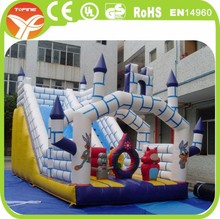 inflatable castle slide for sale