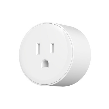 Amazon Alexa round shape eu smart wifi socket smart plug uk