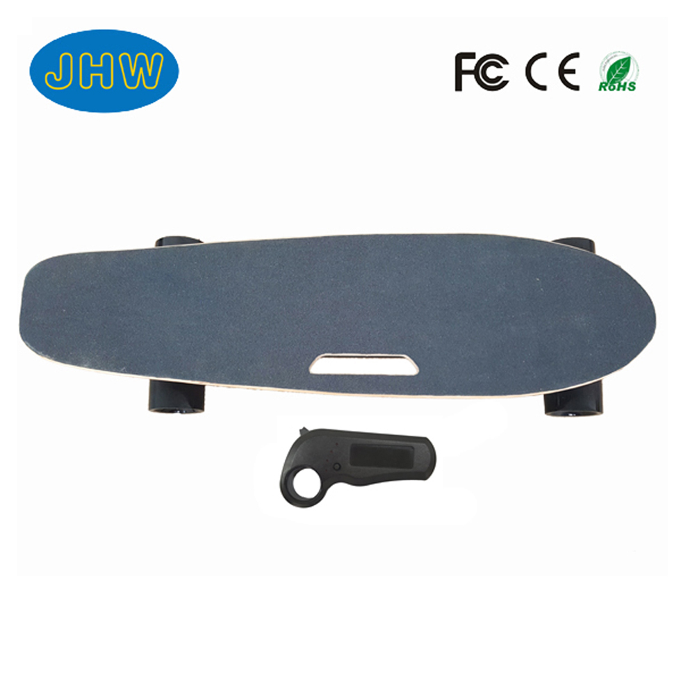 Four wheels Longboard hoverboard remote electric skateboard
