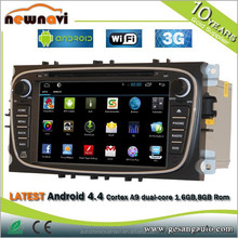 7 inch android car GPS navigator , car gps maps download, s100 gps car navigation system with bluetooth for Ford MONDEO-2011