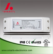 ac/dc 350ma 50v triac dimmable power supply led driver