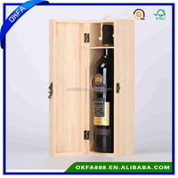 Exquisite wooden wine gift packaging box