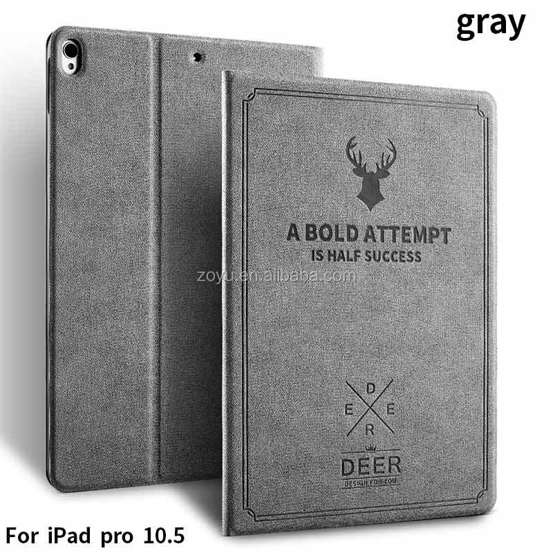 Custom Designs Tablet Accessories Case For iPad 10.5 inch PU Leather Case