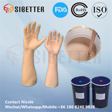 Rubber Compound RTV Silicone for Artificial Limbs Making