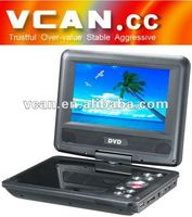 7.5 INCH PORTABLE TFT LCD DVB-T car with FM radio vcan0078