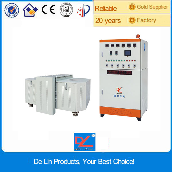 Small induction gold melting electrical heat treatment furnace price for sale