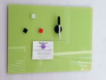 multifunctional with square glass magnets magnetic tempered glass memo board