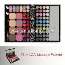 Distributor! TZ 72 leopard makeup round eyeshadow palette compact case with special design