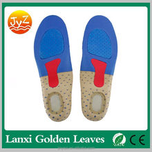2017 New Arrivals Hot Selling Amazon Shock-absorbent orthopedic foot cushions and eva arch insole