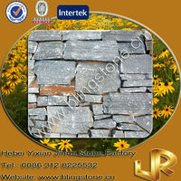 Natural Slate Stone Exterior Wall Tiles Grey