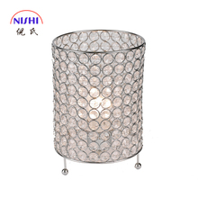 Fancy Design NIS-121154 Patterned Carved Table Lamp 3D Mirrored Table Lamp