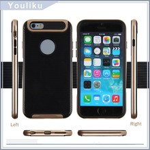 Slim fit mobile phone case ver hybrid us tpu pc phone case for iphone 6 in stock with package