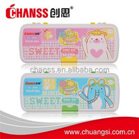 2016 2 layers pencil box cs-3060