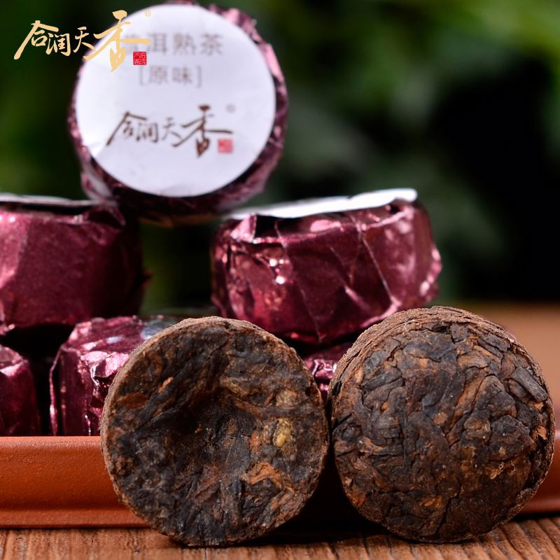 premium natural sex tonic tea pu'er drinks lower blood pressure
