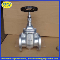 JIS F7364 10K 16K cast iron gate valve