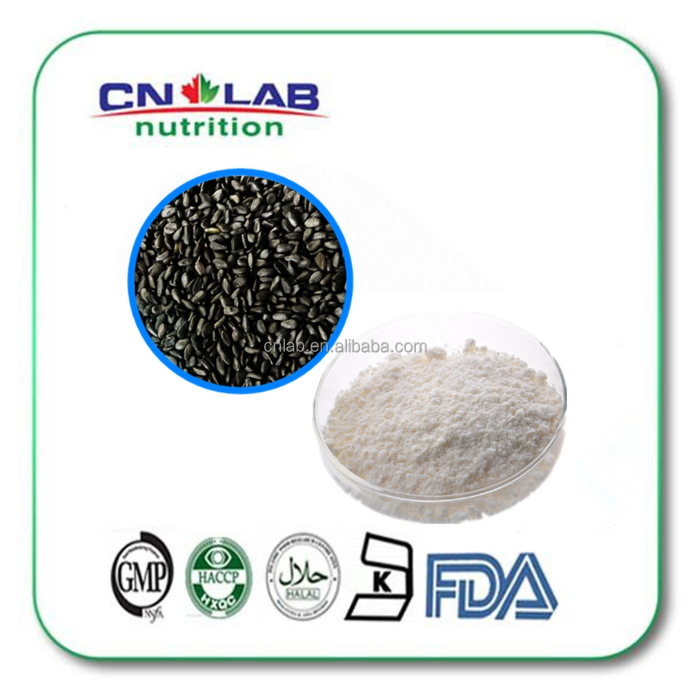 Pure natural black sesame seed powder with free sample