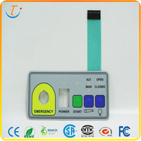 Remote Control Application Embossing Membrane Switch Membrane Keyboard
