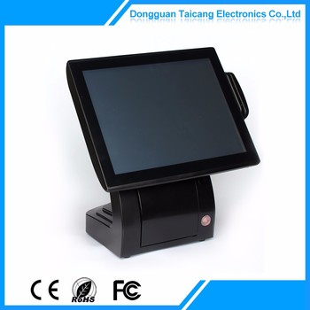 Reasonable Price Double Pos Hot Sell Touch Pos Terminal All In One