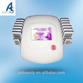 Portable 650nm lipo laser fat burning ultrasonic cavitation slimming device