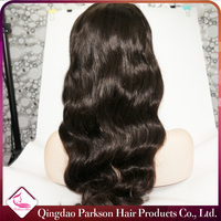 Hot beauty hair popular style cheap and fine freestyle peruvian body wave full lace remy hair wigs