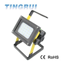 Rechargeable Waterproof Outdoor Floodlight Project Lamp 3.7V 30w Led Flood Light , Portable Led Flood Work Light