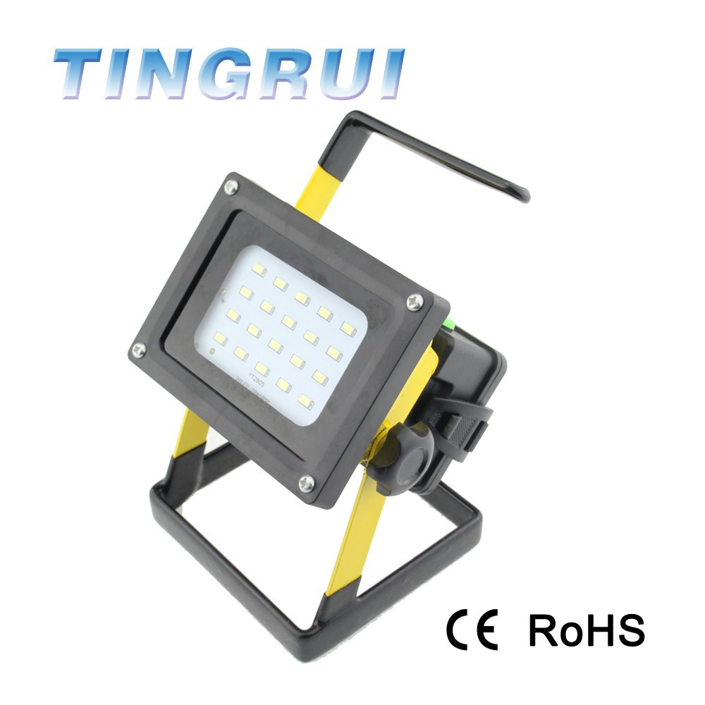 Rechargeable Waterproof Portable Outdoor Floodlight Project Lamp 3.7V 30w Led Flood Light , Led Flood Work Light