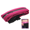 Reflective Fitness Sport Running Jogging Waist Belt Pouch Bag for 6 inch Screen Phones