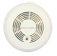 Superior gas detector and 9V battery operated smoke and CO gas alarm monitor