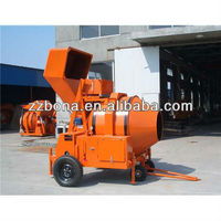 JZR500 diesel engine powered concrete mixer