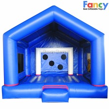 fancy!!!inflatable bouncing mat,used bounce houses for sale,kids inflatable bounce bed FT001