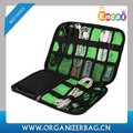 Encai New Design Travel Charger Bag Wholesale USB Organizer Bag Black