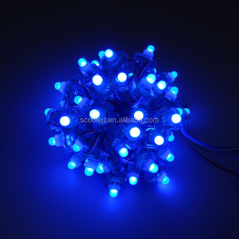 Waterproof IP68 DV5 12MM UCS1903 led pixel light round /square shape