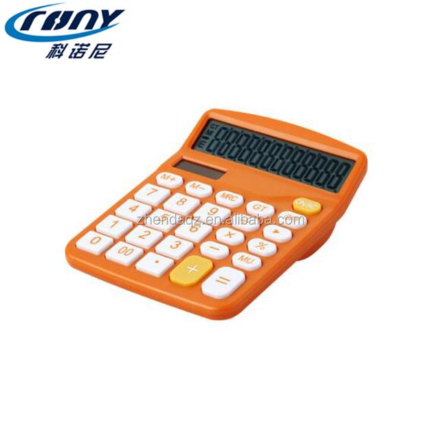 Office Best 12 Digit Stationery Dual Power Desk Top Calculator