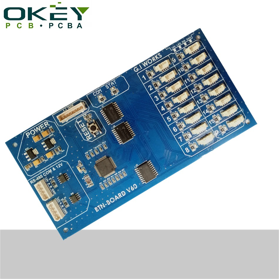 FR4 pcb and pcba manufacturer in china oem motion activated voice recorder pcb assembly