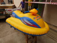 Top quality durable PVC fun toys for kids and adults inflatable pvc cheap jet ski