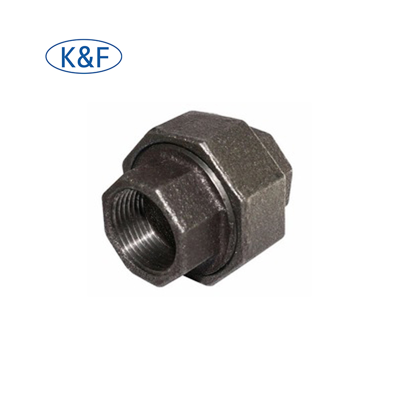 BLK F&F Malleable Iron Conical Joint Union Fittings