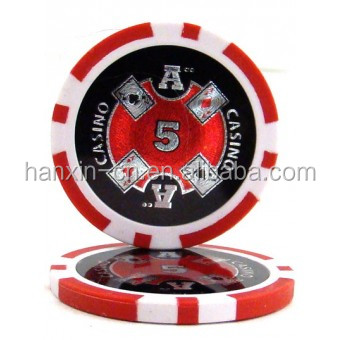 Ace Casino Poker Chips