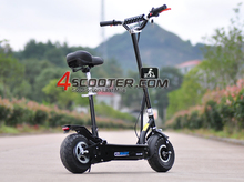 500W rechargeable scooter electric 48V 20AH lead acid battery power electric scooter
