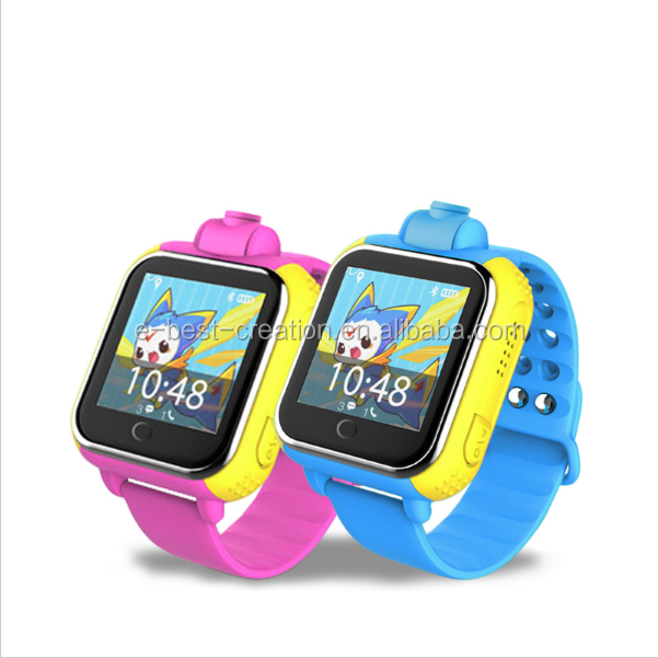 2016 Newest Touch Display Kids 3g Sos Gsm Gps Tracker Smart Watch