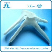 2015 Hot sale Disposable plastic Vaginal Speculum dilator