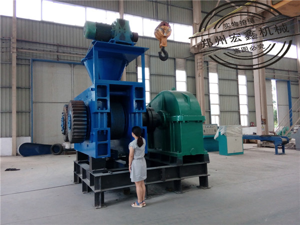 Lime powder ball press machine / Iron ore powder briquette making machine / Magnesium powder ball press
