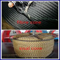 8X19, 1X19, 6X19, 6X37+fc, 7 X7 all constraction galvanized steel wire rope factory price