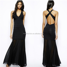 detachable skirt bodycon prom dress black chiffon dress quinceanera dresses with detachable skirt