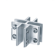 New Zinc Alloy Glass Partition Clamp YD-078D