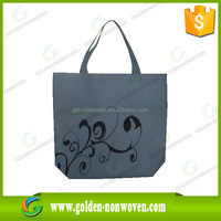 Draw string pp nonwoven promotional bags/spunbonded non woven wine bag/fruit protection bag making polypropylene material