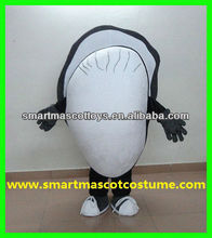 EVA plush material oyster shell mascot costume for adult with good visual adult oyster shell mascot costume