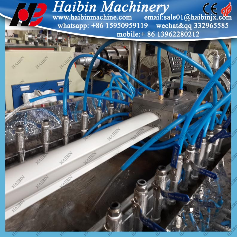 PVC Electrical Cable Trunking Manufacturing Machine