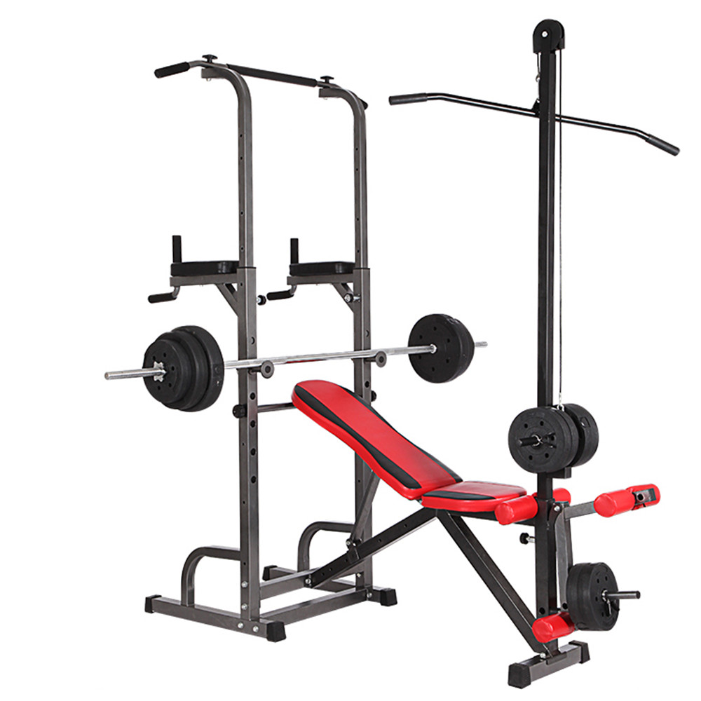 New Multi Function Adjustable Weight Lifting Bench With Power Tower Sit Up Bench Buy Multi