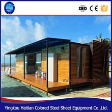Prefabricated wooden log house design for kenya, china apartments cheap 2 bedroom prefab kit homes for sale south america